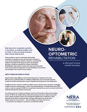 Downloadable Resources | Neuro-Optometric Rehabilitation